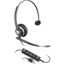 Plantronics (Poly) EncorePro HW715 Corded USB Headset