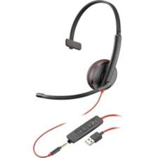 Plantronics (Poly) Blackwire C3215 On-Ear Headset