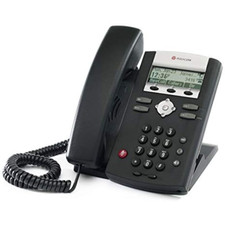 Polycom (Poly) SoundPoint IP 321 VoIP Phone with Power Supply