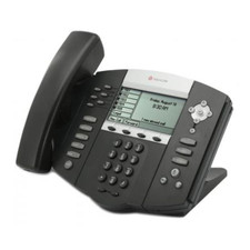 Polycom (Poly) SoundPoint IP 650 VoIP Phone with Power Supply