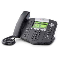 Polycom (Poly) SoundPoint IP 670 VoIP Phone with Power Supply