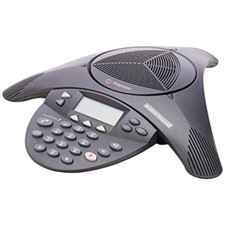 Polycom (Poly) SoundStation 2 Analog Conference Phone (Non-Expandable with Display)