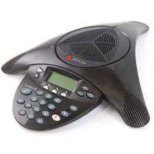 Polycom (Poly) SoundStation 2 Analog Conference Phone (Expandable with Display)