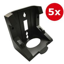 Polycom (Poly) VVX D60 Wallmount Bracket Kit (5-pack)