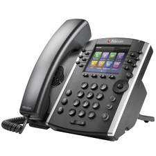 Polycom (Poly) VVX 411 VoIP Phone with Power Supply