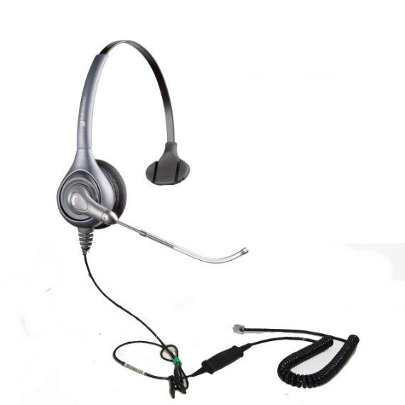 Plantronics HW251 Monaural Headset with VoiceTube