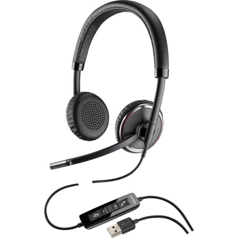 Plantronics (Poly) Blackwire C520 Dual Ear Headset