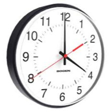 Bogen BCAL-4BS-12R-0 Wireless Clock