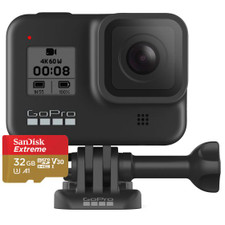 GoPro HERO8 Black 4K Waterproof Action Camera