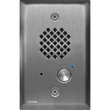 Viking E-40SS Compact Single Gang Entry Phone with LED