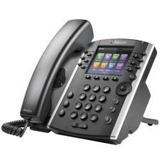 Polycom (Poly) VVX 411: VoIP Phone TAA Compliant, Skype Edition