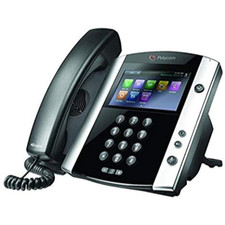 Polycom (Poly) VVX 601: VoIP Phone TAA Compliant, Skype Edition