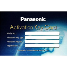 Panasonic KX-NCS4708 Activation Key Card
