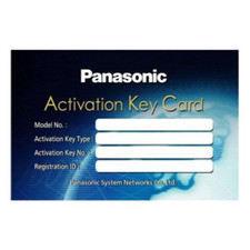 Panasonic KX-NSM201W 1 Channel IP Softphone / IP Propietary Telephone Activation Key