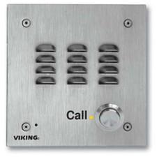 Viking Vandal Resistant Handsfree Doorbox 14 Gauge Stainless Steel Faceplate