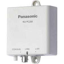 Panasonic Coaxial-LAN Converter Camera Side 1 Ch-used with WJ-PR201/WJ-PR204 sold separately