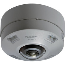 Panasonic iA(Intelligent Auto) H.265 360-degree Vandal Resistant Outdoor Dome Camera